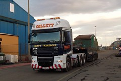 Collett DAF XF  FTM 8x4 (Jack,Shepherd) Tags: daf ftm invergordon xf collett nooteboom