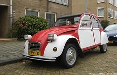 Citron 2CV 1986 (XBXG) Tags: auto old france classic haarlem car vintage french automobile citron voiture 2cv 1986 eend geit ancienne franaise deuche