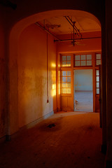 Abandoned State Hospital (AeroFennec) Tags: building abandoned sunrise hospital state decay center asylum psychiatric psych