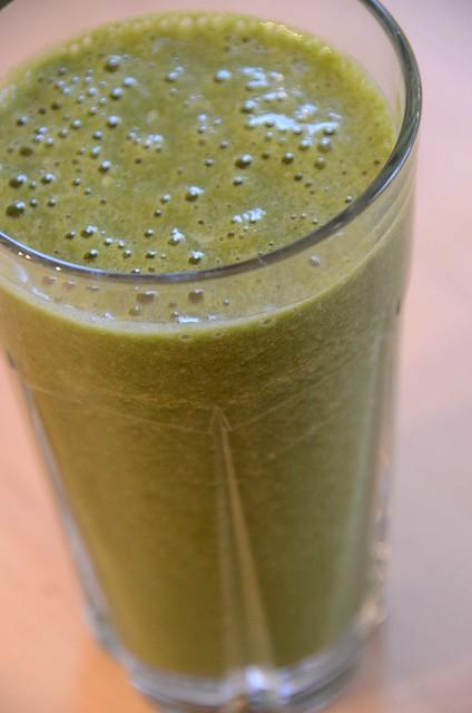 Green Drink Spinach Smoothie