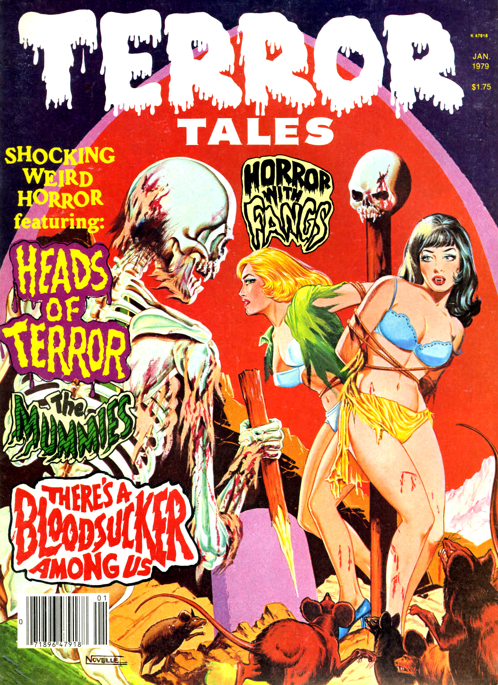 Terror Tales Vol. 10 #1 (Eerie Publications, 1979)