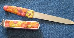 cortador de unha e lixa 16 (Alicia Stiubi) Tags: design fimo canos millefiore brindes polimerclay massakato