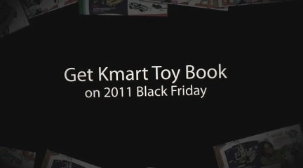 Get Kmart Toy Book on 2011 Black Friday