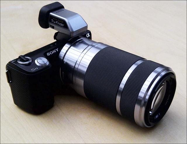 Sony NEX-5n 55-200mm zoom lens