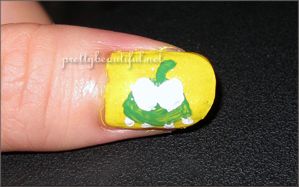 Cut the Rope Nail Art - Omnom Sketch