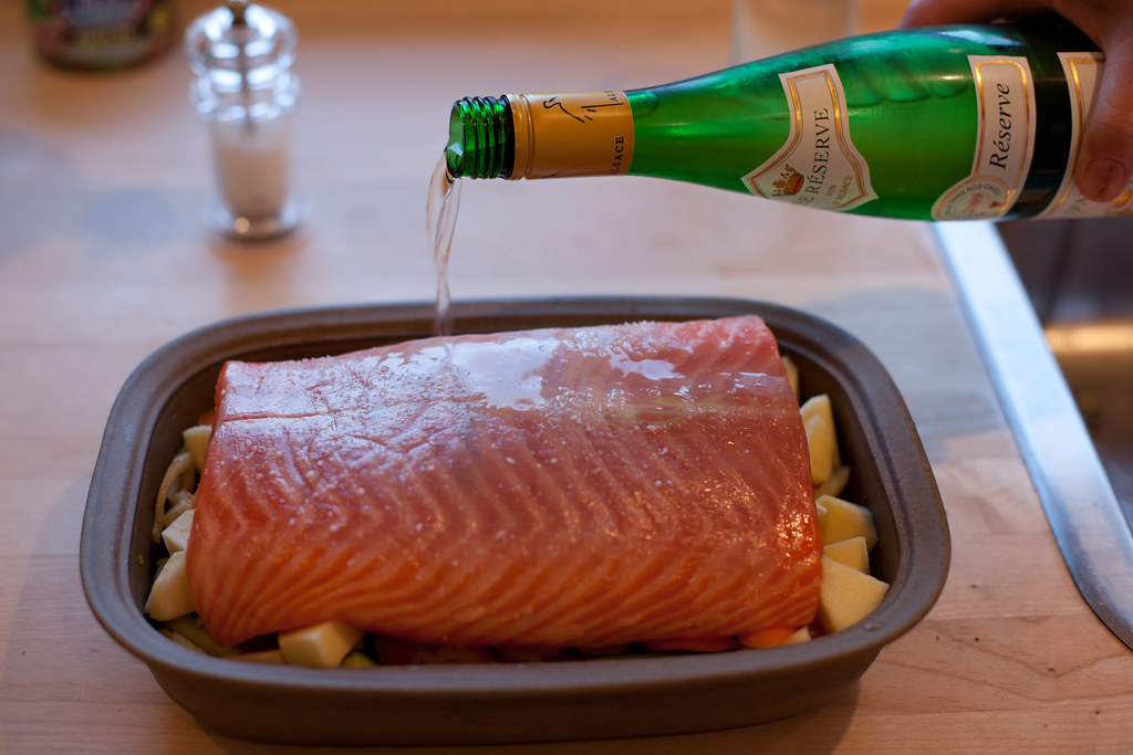 Salmon for dinner by Lars Plougmann, on Flickr