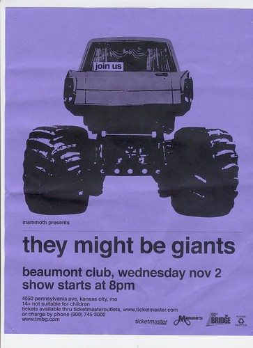 They Might Be Giants 11-02-11