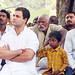 Rahul Gandhi in village chaupal, Sant Ravidas Nagar (9)