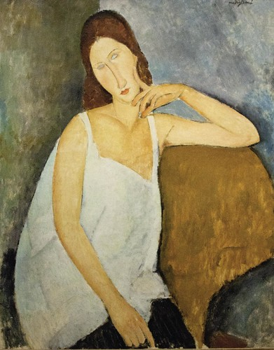 Amedeo Modigliani: Jeanne Hébuterne by unbearable lightness