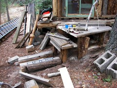 Gleaning: needs steps (miss_distance) Tags: walden tinyhouse thoreau uppermichigan gleaning yellowdogplains
