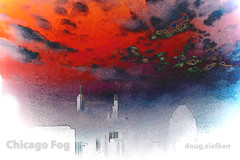 Chicago Skyline FOG by doug.siefken