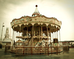 Old Carousel (goodbyetrouble) Tags: new old city usa pier us carousel olympus atlantic jersey ac karussell e450