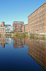 River Aire at Leeds by Tim Green aka atoach