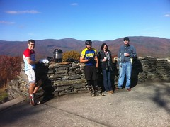 The Gang at the Cohutta Overlook