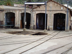 Turntable (Concorps) Tags: old railroad travel vacation mountain architecture buildings landscapes spain scenery track sony transport scenic eisenbahn rail railway trains historic spanish  bahn mallorca palma  spoor spoorwegen soller      serradetramuntana      bunyola  ferrocarrildesller   dscw220
