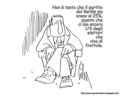 Riflessione triste by Livio Bonino