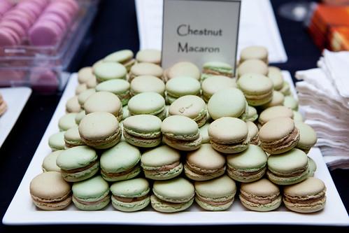 Francois Payard's Chestnut macarons
