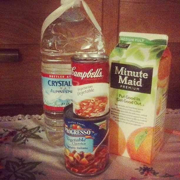 supplies for the sickly