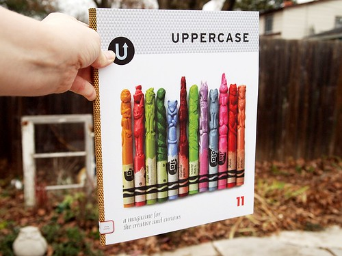 uppercase 11 - pretty crayon cover!