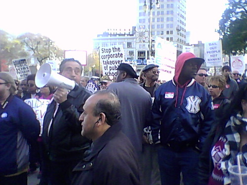 Occupy Detroit labor solidarity rally held on November 6, 2011. The event was attended by over 700 people. (Photo: Abayomi Azikiwe) by Pan-African News Wire File Photos