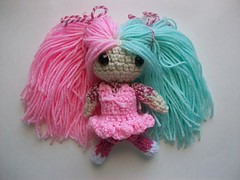 Harajuku girl doll (Mooy) Tags: cute fashion japan doll handmade crochet inspired plush harajuku kawaii amigurumi mooeyandfriends