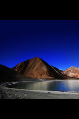Pangongtso or Pangong Tso - The Lake that Licks salty Tears (Anoop Negi) Tags: blue portrait india lake photography for photo media image photos delhi indian bangalore creative images best po kashmir tso mumbai anoop ladakh negi pangong pangongtso photosof ezee123 imagesof thangtse jjournalism