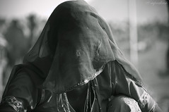 Woman in Veil (Ghunghat), Pushkar (me suprakash) Tags: blackwhite pushkar rajasthan ladyinveil pushkarcattlefair faceinveil