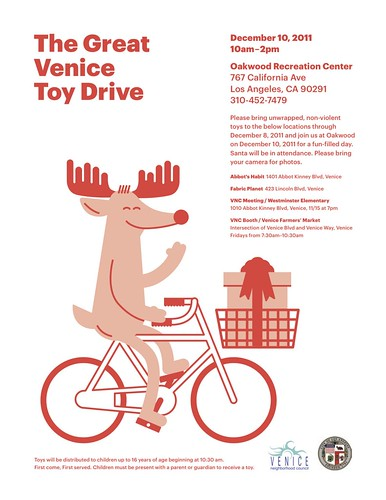 venice toy drive