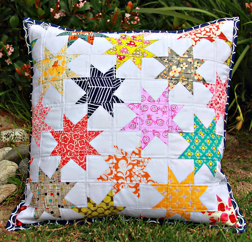 Obsessed with stars pillow