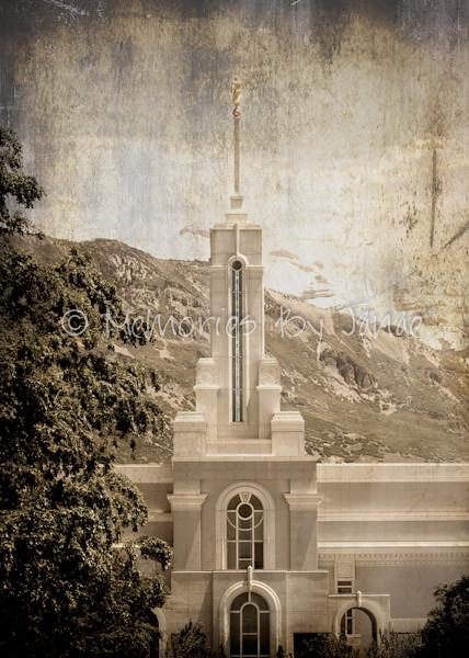 Mt. Timpanogos Vintage LDS Temple Prints -0007