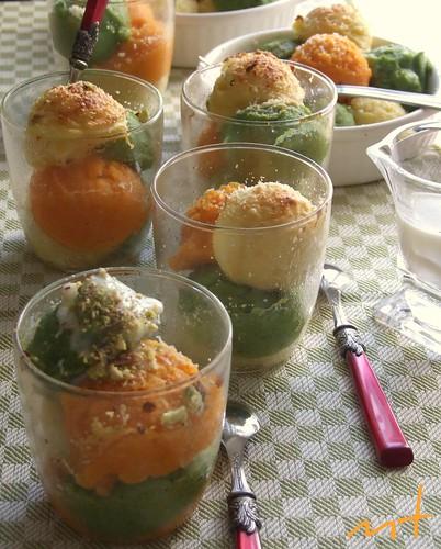 bicchierini alle 3 verdure