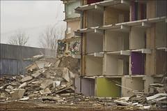 Equality (Rense Haveman) Tags: street city urban home demolition ede flatbuilding pentaxk5