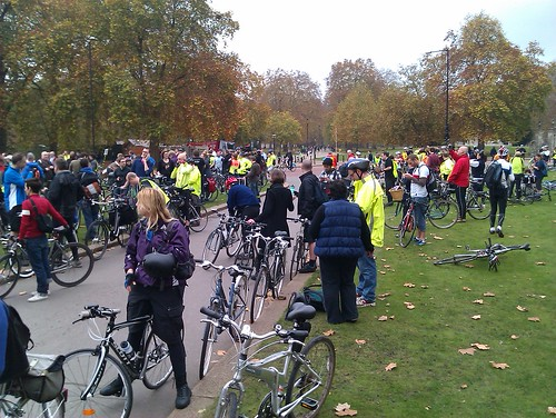 Half way stop at Hyde park