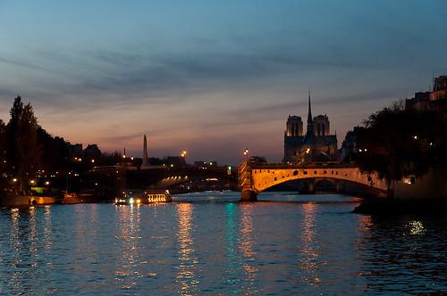 Paris, la Seine et Notre-Dame