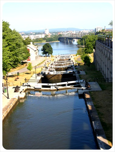 ottawa rideau canal locks