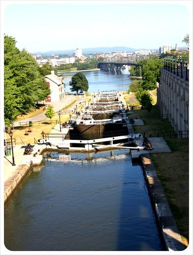 ottawa rideau canal locks
