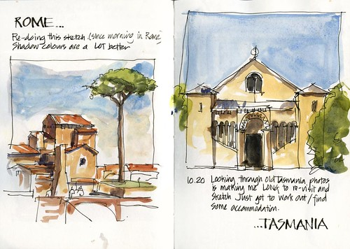 111112 Rome to Tasmania by borromini bear