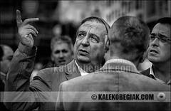 (Soniko   Kaleko Begiak) Tags: country bilbao noviembre 20 bizkaia basque vasco electoral euskadi vizcaya bilbo partido pais iaki elecciones campaa euskal herria pnv josu nacionalista 2011 euzkadi anasagasti erkoreka