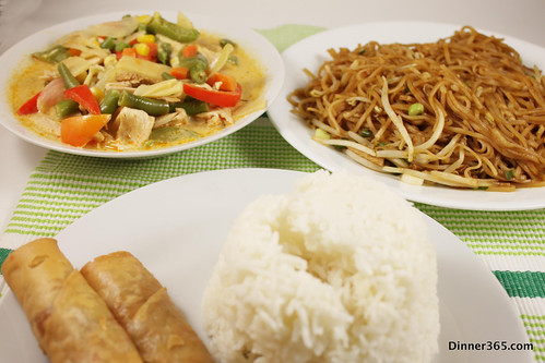 Day 318- Carry out Thai Dinner