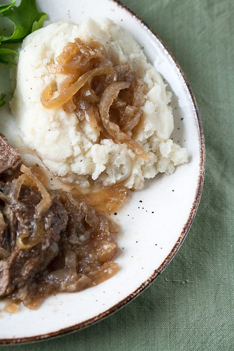 Pot Roast with Onions