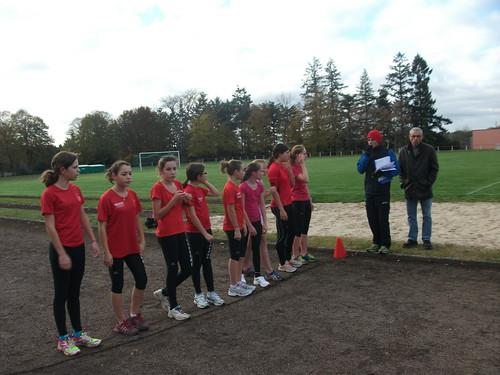 Les demoiselles de Vendôme Triathlon en pleine concentration