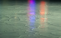 Cracked Ice (jaxxon) Tags: abstract cold macro reflection ice night lens prime lights nikon dof bokeh iceskating skating surface icerink depthoffield nighttime micro rink fixed coloredlights abstraction 28 365 mm nikkor f28 cracked vr afs 105mm 105mmf28 2011 iceskatingrink d90 nikor project365 f28g gvr jaxxon 105mmf28gvrmicro ayearinpictures nikkor105mmf28gvrmicro 321365 axxon nikon105mmf28gvrmicro jacksoncarson