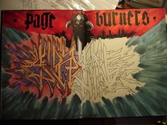 Page Burners WIP (_SIREN_) Tags: sketch tea tag bored unfinished graff siren blackbook graffwetee