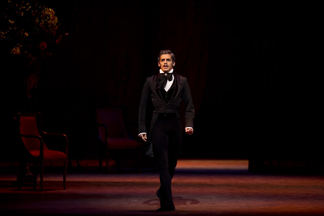 "Federico Bonelli as Onegin in John Cranko's Onegin Royal Opera House season 2010/11 <a href=""http://www.roh.org.uk/productions/onegin-by-john-cranko"" rel=""nofollow"">www.roh.org.uk/productions/onegin-by-john-cranko</a> Photo: Bill Cooper"