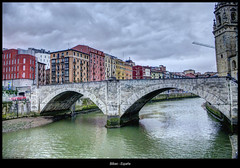 Bilbao Bridge..... (german_long) Tags: espaa spain bilbao bilbo 2012 pasvasco