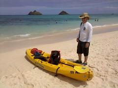 Lanikai Beach (Great Salt Lake Images) Tags: me hawaii oahu kayaking kailua lanikai mokuluaislands hiker56 twinislands mokunui 042011 kailuasailboardandkayaks