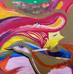órbita. (Felipe Smides) Tags: painting pintura smides felipesmides