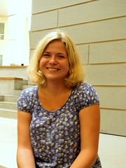 Študentka Klára Kolbabová  foto: Adriána Mečiarová