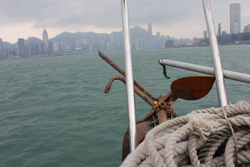 Daytime Victoria Harbor view of Hong Kong. by emaggie