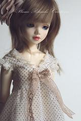 Tunique Unoa (Plume Blanche Créations) Tags: doll dress sewing clothes bjd leggings msd unoa plumeblanchecréations